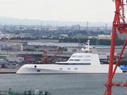 大富豪のプライベートヨットを見てきました