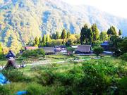 富山の世界遺産に行って国際交流しました